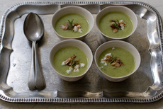Buttermilk Summer Squash Soup Recipe
