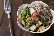 Lazy Day Peanut Noodle Salad Recipe