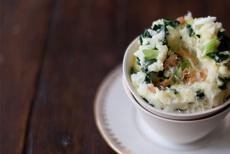 Kale and Olive Oil Mashed Potato Recipe