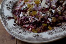 Tassajara Warm Red Cabbage Salad