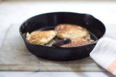 Rice and Sesame Pancakes
