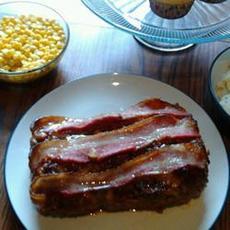 BBQ Oatmeal Meatloaf