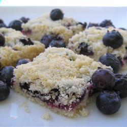 Blueberry Shortbread Bars | Bottomless Bites