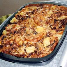 Capirotada (Mexican Bread Pudding)