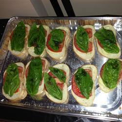 Caprese Salad Sandwiches