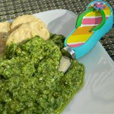 Cilantro Jalapeno Pesto with Lime