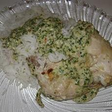 Cilantro Chutney Chicken