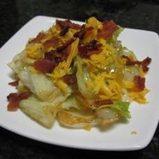 DeeAnn's Cheesy Bacon Cabbage