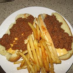 Jeff's Hot Dog Chili