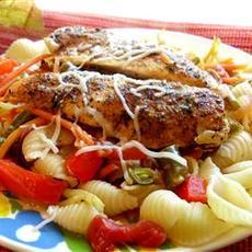 Lemon Chicken and Veggie Pasta
