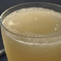 Lemon Whiskey Slush | Bottomless Bites