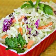 Lower-Fat Coleslaw