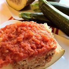 Mellas Family Lamb Stuffed Zucchini (Koosa)