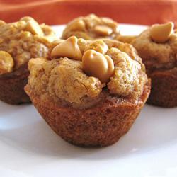 Mini Pumpkin Butterscotch Muffins | Bottomless Bites