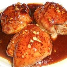 Oyster Sauce Chicken Thighs