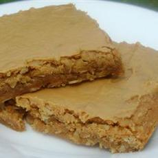 Peanut Butter and Oat Brownies