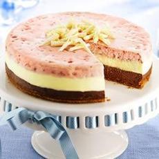 PHILLY Neapolitan Cheesecake