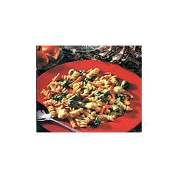Vegetable Rotini with Dijon Cheese Sauce
