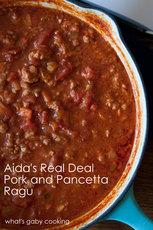 Real Deal Pancetta and Pork Ragú