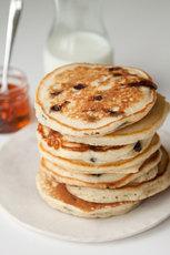 Chocolate Chip Sour Cream Pancakes