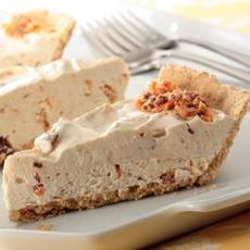 Peanut-Butterfinger Cream Pie