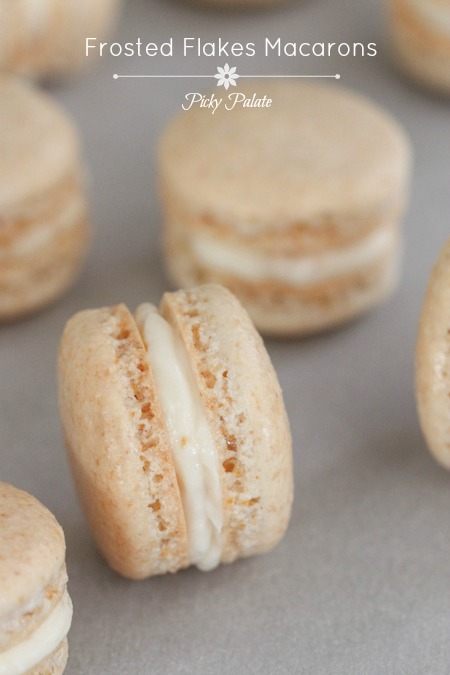 Frosted Flakes Macarons