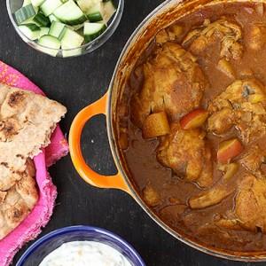 Mum's Chicken & Potato Curry | Bottomless Bites