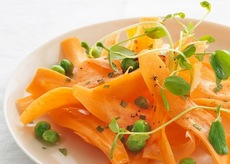 Carrot, Pea and Mint Salad Recipe