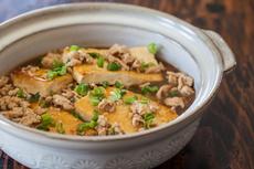 Braised Tofu with Ground Pork