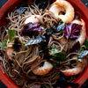 Soba Salad with Shrimp, Shiso, and Nori