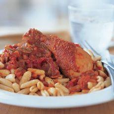 Cavatelli with Chicken & Tomato