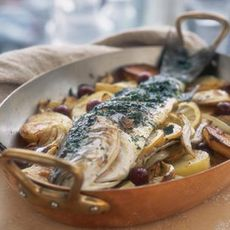 Roasted Branzino with Fennel