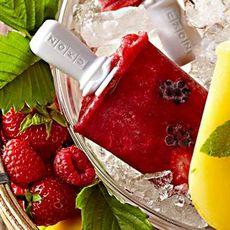 Triple-Berry Ice Pops