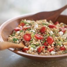 Farro Salad with Ricotta