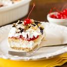No-Bake Banana Split Cake Dessert