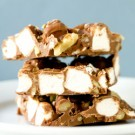 Rocky Road Chocolate Bark