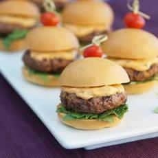Tomato-Basil Sliders