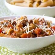Homemade Pasta Sauce - Ragu Recipe with Tomato and Sausage