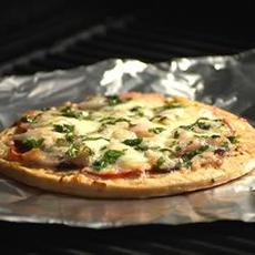 California Grilled Pizza