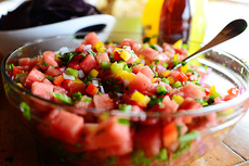 Watermelon Pico de Gallo