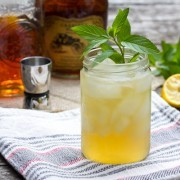 The Champ  Bourbon Cocktail - Whiskey Sour