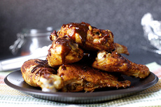 slow-and-low dry rub oven chicken