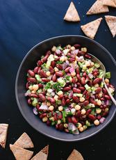Lemon-Parsley Bean Salad