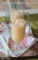 Honey and Orange Creamsicle Slushy