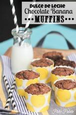 Dulce de Leche Chocolate Banana Muffins
