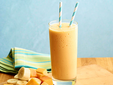 Papaya-Banana Smoothie