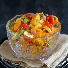 Sweet Potato & Apple Salad with Chipotle Lime Dressing