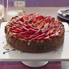 Strawberries and Champagne Cheesecake Recipe