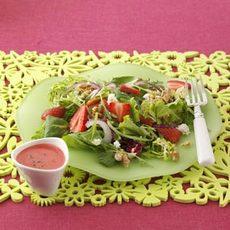 Strawberry Salad with Mojito Vinaigrette Recipe