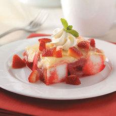 No-Bake Strawberry Dessert Recipe